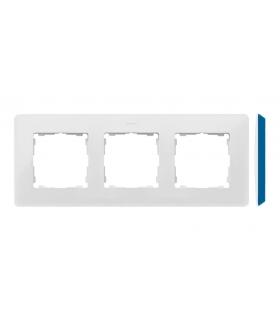 Ramka 3- krotna biały indygo 8200630-201