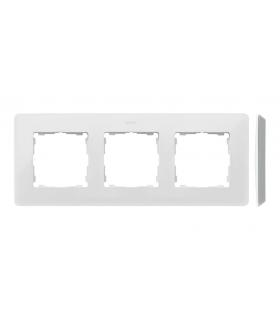 Ramka 3- krotna aluminium biały 8200630-230