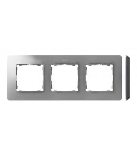 Ramka 3- krotna aluminium czarny 8200630-293