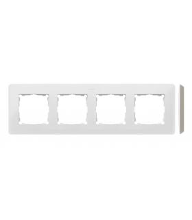 Ramka 4- krotna biały ciepły 8200640-029