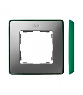 Ramka 1- krotna aluminium zimne zielony 8201610-253