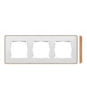 Ramka 3- krotna biały drewno 8201630-270