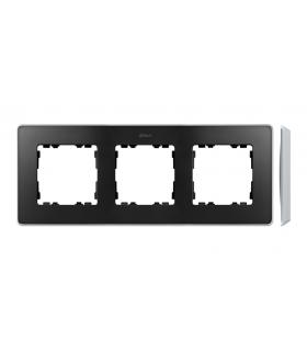 Ramka 3- krotna aluminium grafit 8201630-240
