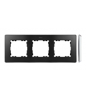 Ramka 3- krotna chrom grafit 8201630-241