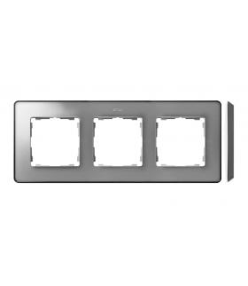 Ramka 3- krotna aluminium zimne grafit 8201630-293