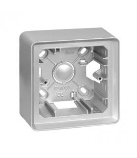 Puszka natynkowa 1-krotna aluminium 8200750-093