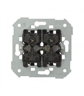 Przycisk podwójny zwierny z podświetleniem 10AX 75393-39