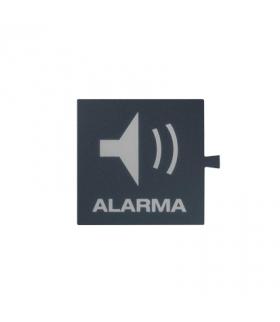 Filtr do klawisza świecącego tło grafit - piktogram Alarma 82962-37