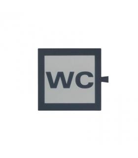 Filtr do klawisza świecącego tło białe - piktogram WC 82962-63