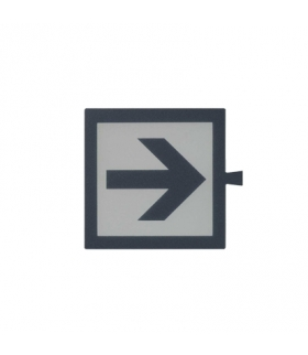Filtr do klawisza świecącego tło białe - piktogram Strzałka 82962-67