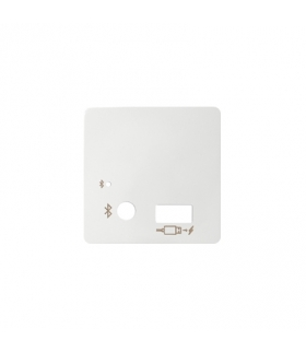 Pokrywa do odbiornika Bluetooth i ładowarki USB biały 8201085-030