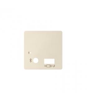 Pokrywa do odbiornika Bluetooth i ładowarki USB kremowy 8201085-031