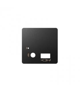 Pokrywa do odbiornika Bluetooth i ładowarki USB grafit 8201085-038
