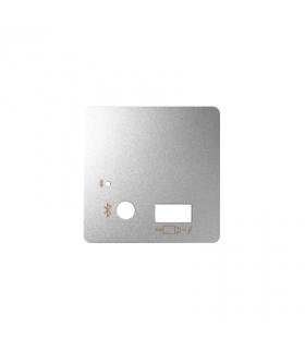 Pokrywa do odbiornika Bluetooth i ładowarki USB aluminium 8201085-093