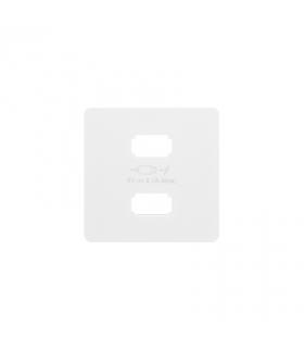 Pokrywa do ładowarki USB biały 8211096-030