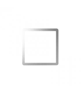 Ramka osprzętowa aluminium 82088-93
