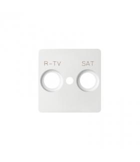 Pokrywa do gniazda antenowego RTV-SAT biały 82097-30