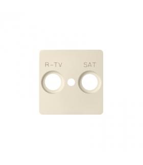 Pokrywa do gniazda antenowego RTV-SAT beżowy 82097-31