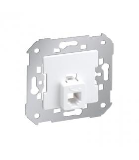 Gniazdo telefoniczne pojedyncze RJ12 biały 75481-30