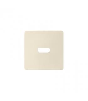 Pokrywa do gniazda HDMI (V1.4) żeńskiego kremowy 8201094-031