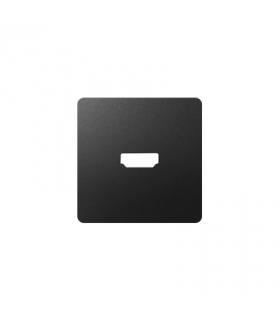 Pokrywa do gniazda HDMI (V1.4) żeńskiego grafit 8201094-038