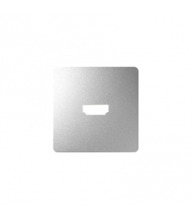 Pokrywa do gniazda HDMI (V1.4) żeńskiego aluminium 8201094-093
