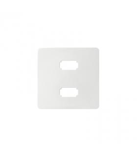 Pokrywa do gniazda 2 x USB (2.0) typ A, żeńskiego biały 8201090-030
