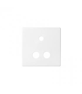 Pokrywa do gniazda Mini jack + 2 RCA biały 8201092-030