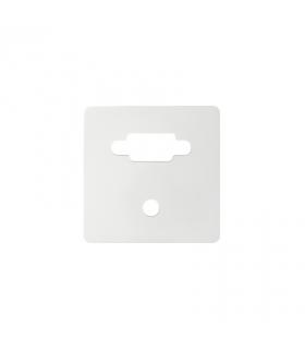 Pokrywa do gniazda VGA żeńskiego + mini jack biały 8200091-030
