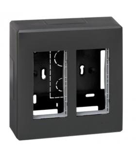 Obudowa natynkowa SIMON 500 2×S500 4×K45 szary grafit 51000002-038