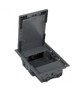 Puszka podłogowa KF prostokątna 4×K45 szary KF200/1