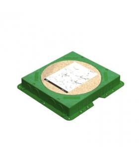 Kaseta do wylewki z tworzywa KF prostokątna G301C
