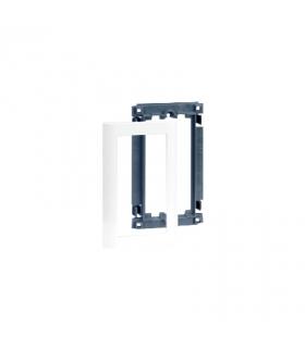 Suport z maskownicą do kolumn i minikolumn ALC 2×K45 1×CIMA czysta biel SAL100/9