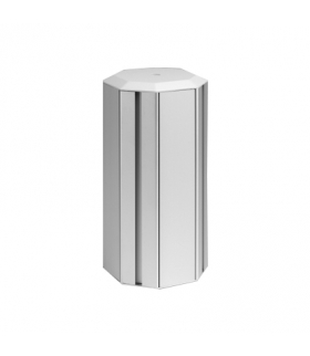 Minikolumna czterostronna ALK ośmiokątna 310mm 24×K45 aluminium ALK546/8