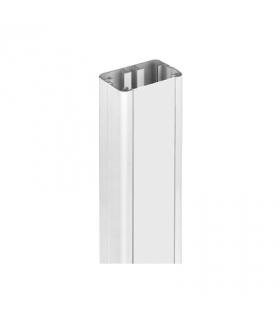 Element przedłużający do kolumn jednostronnych ALC dł.0,5m aluminium AL31P05/8