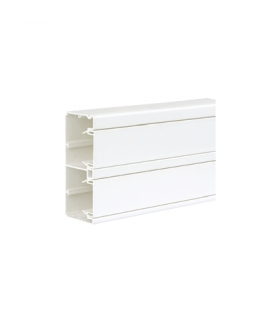 Kanał instalacyjny CABLOPLUS PVC 130×55mm Ilość komór2 dł.2m czysta biel TK12102/9