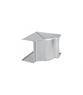 Regulowany kąt wewnętrzny CABLOPLUS 90×55mm aluminium TKA103208/8