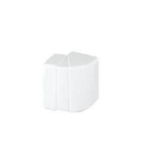 Regulowany kąt zewnętrzny CABLOPLUS 130×55mm czysta biel TKA1305506/9