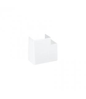 Kąt płaski CABLOPLUS 90×55mm czysta biel TKA101208/9