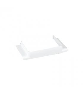 Łącznik T CABLOPLUS do kanałów 90,130,160,185 wyjście 90x55 czysta biel TKA106208/9