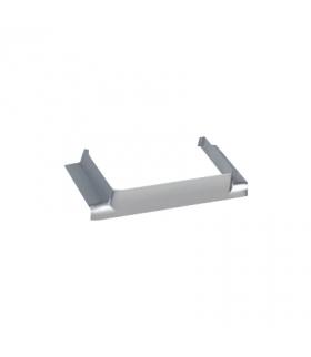 Łącznik T CABLOPLUS do kanałów 130,160,185 wyjście 130x55 aluminium TKA106210/8