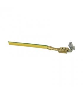 Przewód uziemiający do kanałów aluminiowych dł.12cm TKA904