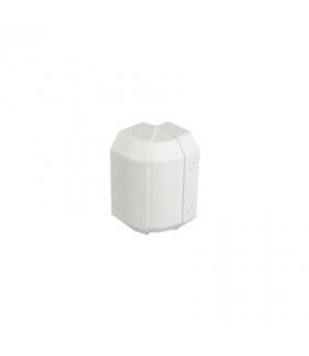 Regulowany kąt zewnętrzny CABLOMAX 210×55mm czysta biel TKA002216/9