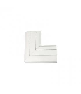 Kąt płaski do góry CABLOMAX 130×55mm czysta biel TKA011210/9