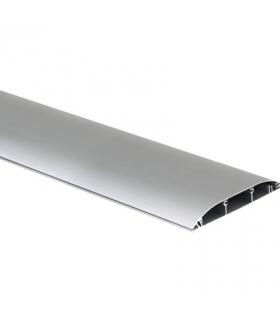 Kanał podłogowy DCS ALU 130×18mm aluminium TF11183/8