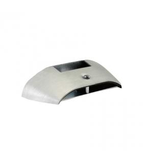 Kąt redukcyjny podłoga-ściana DCS ALU 130×18mm do kanału 70×50mm aluminium TFA970418/8