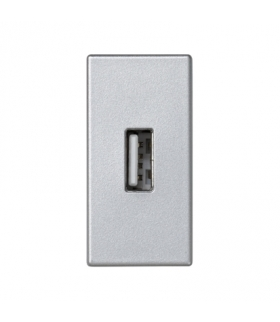 Płytka K45 złącze USB typ A 45×22,5mm aluminium K128B/8