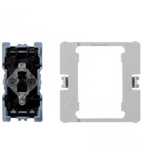 Przycisk K45 z podświetleniem (mechanizm) 16AX 250V 45×22,5mm K304
