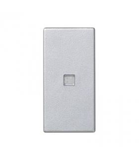 Klawisz K45 z podświetleniem kolor biały 45×22,5mm aluminium K113/8