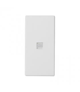 Klawisz K45 z podświetleniem kolor biały 45×22,5mm czysta biel K113/9